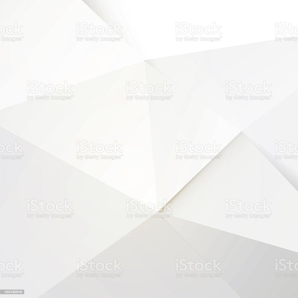 Modern white polygon background stock photo
