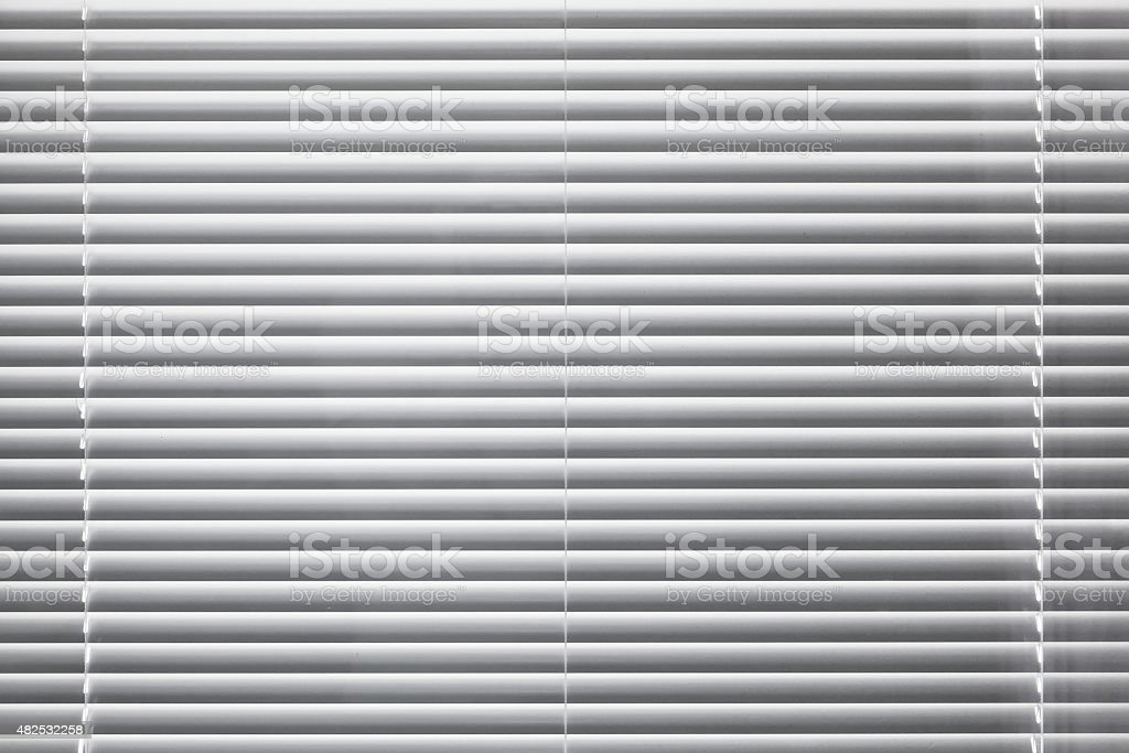 Modern white window blinds background texture stock photo