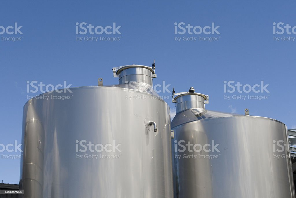 Modern wine technology royalty-free stock photo