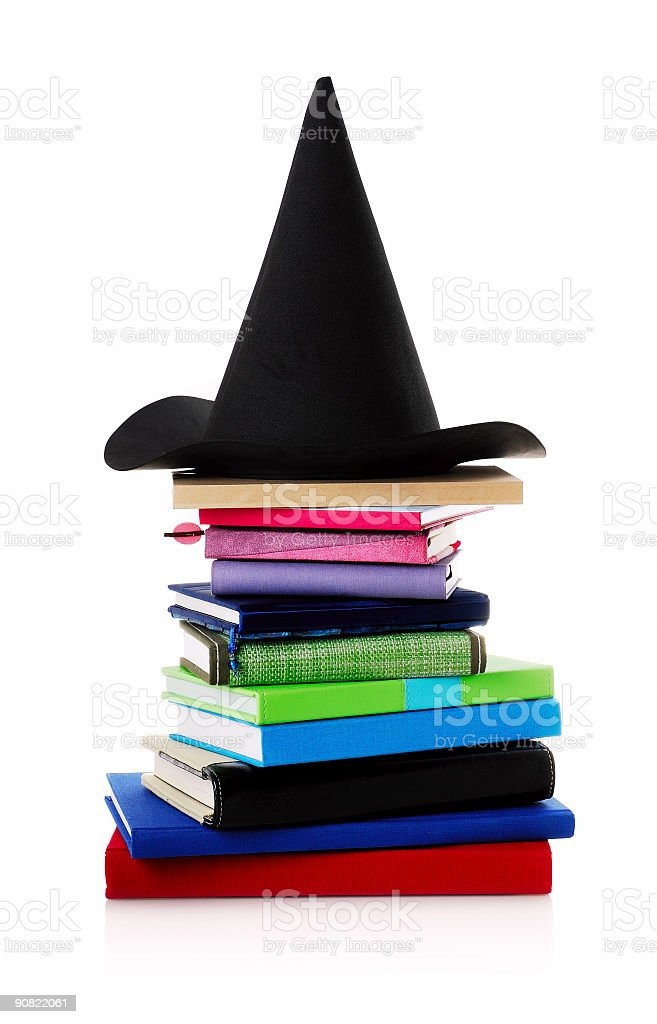 modern witch stock photo