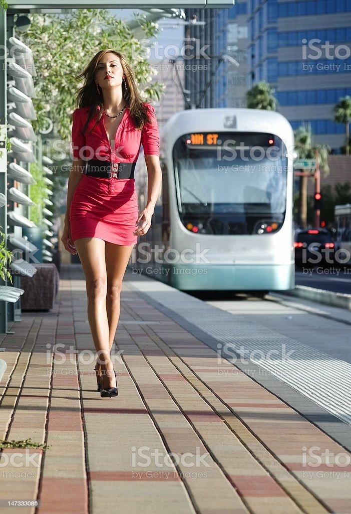 Modern woman stock photo