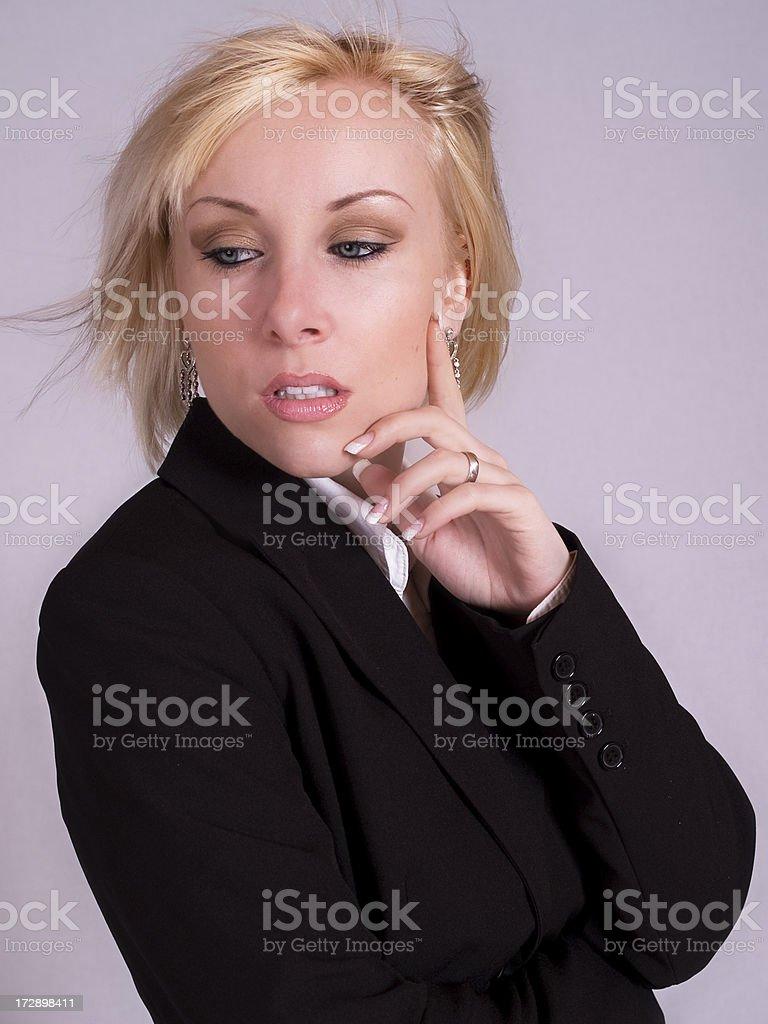 Modern woman royalty-free stock photo