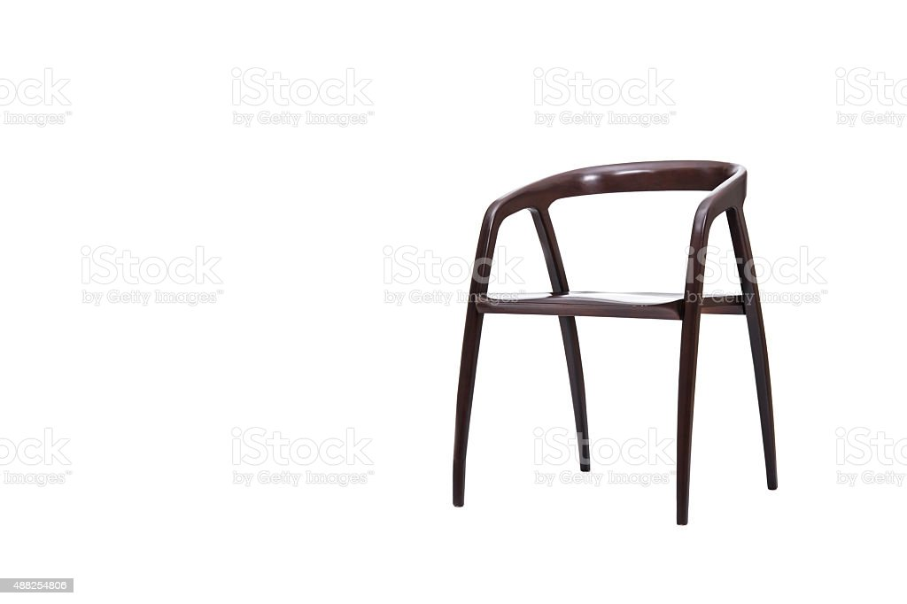 Modern Wooden Chair royalty-free stock photo