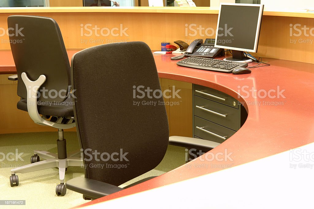 modern work place royalty-free stock photo