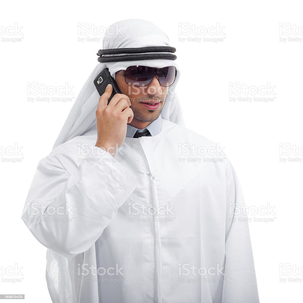 modern young sheik royalty-free stock photo