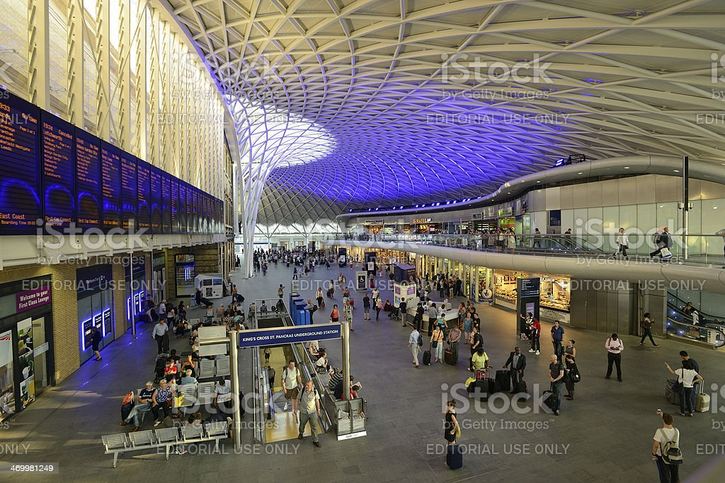 Modernised station royalty-free stock photo
