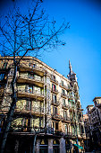 modernism architecture  in Eixample district