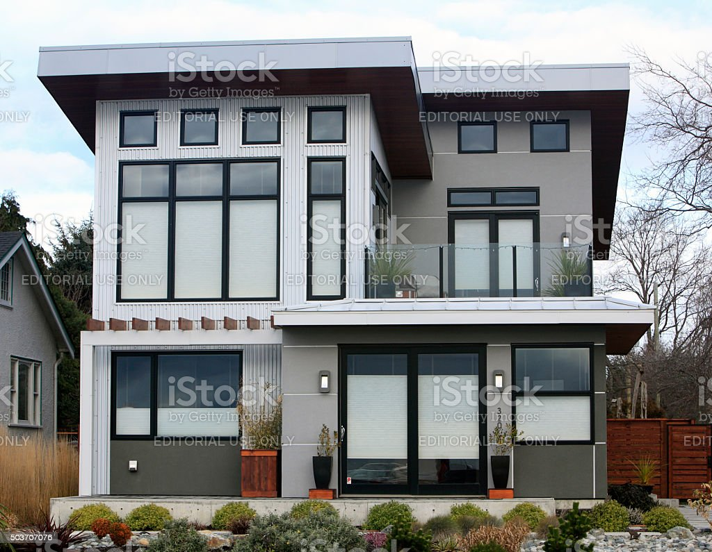 Modernism Residential Architecture stock photo