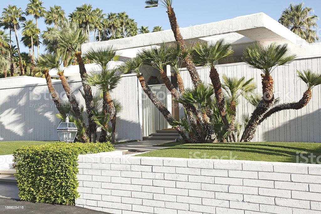 Modernism Residential Morning stock photo
