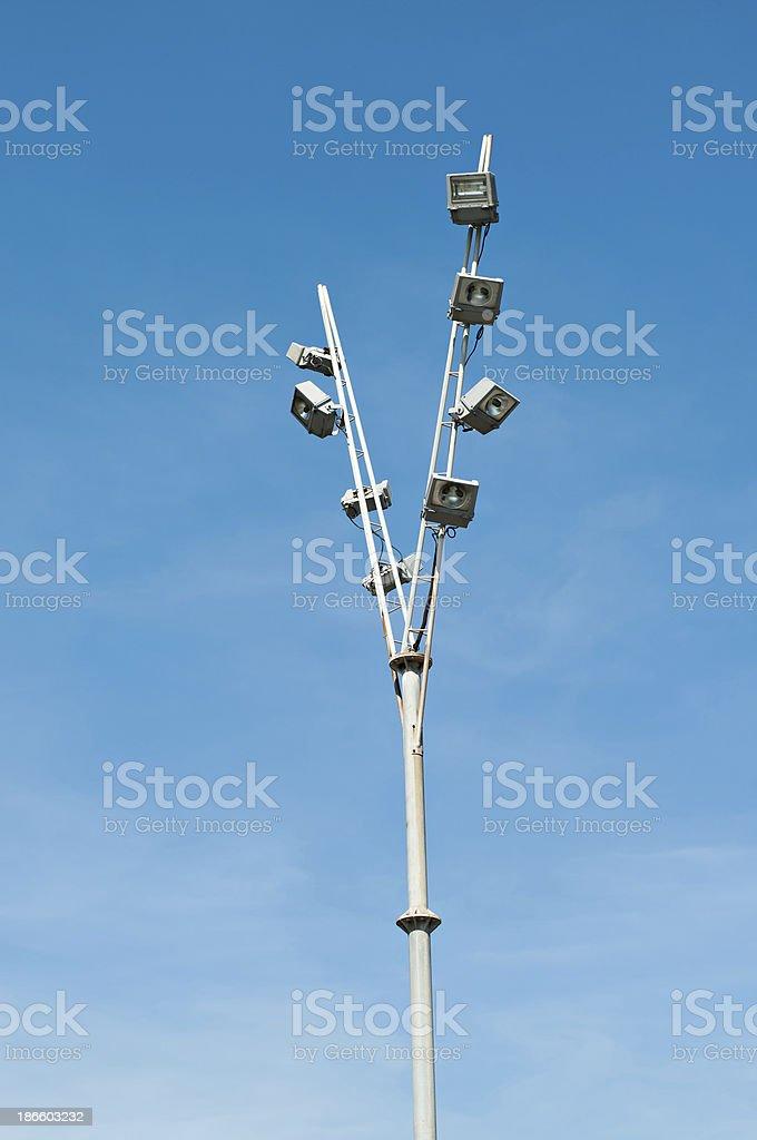 modernist lamp royalty-free stock photo