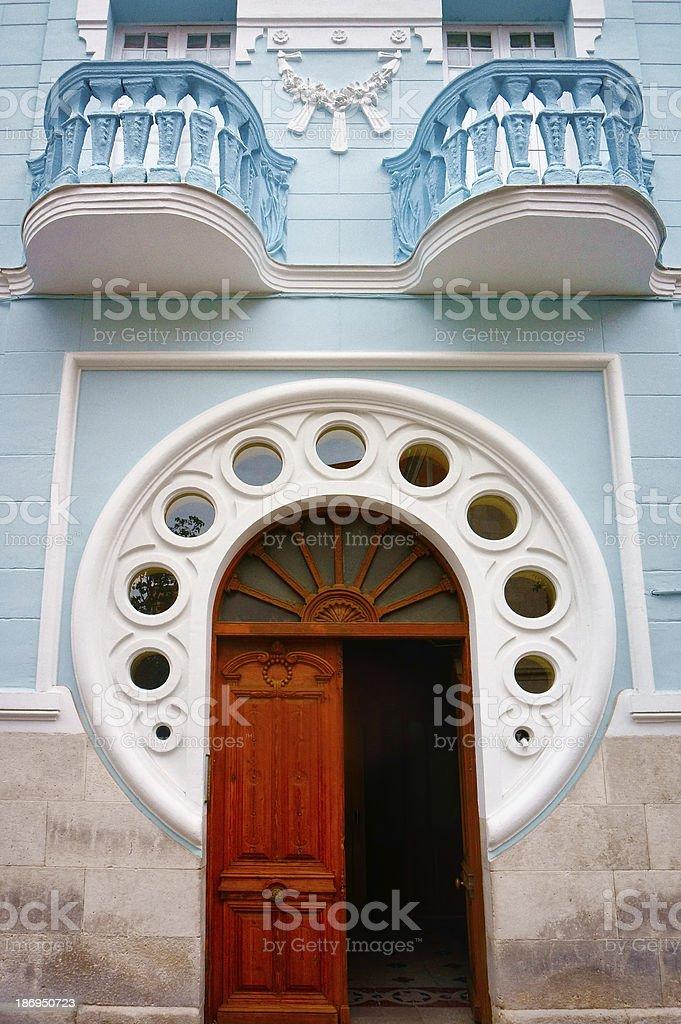 Modernist style door royalty-free stock photo