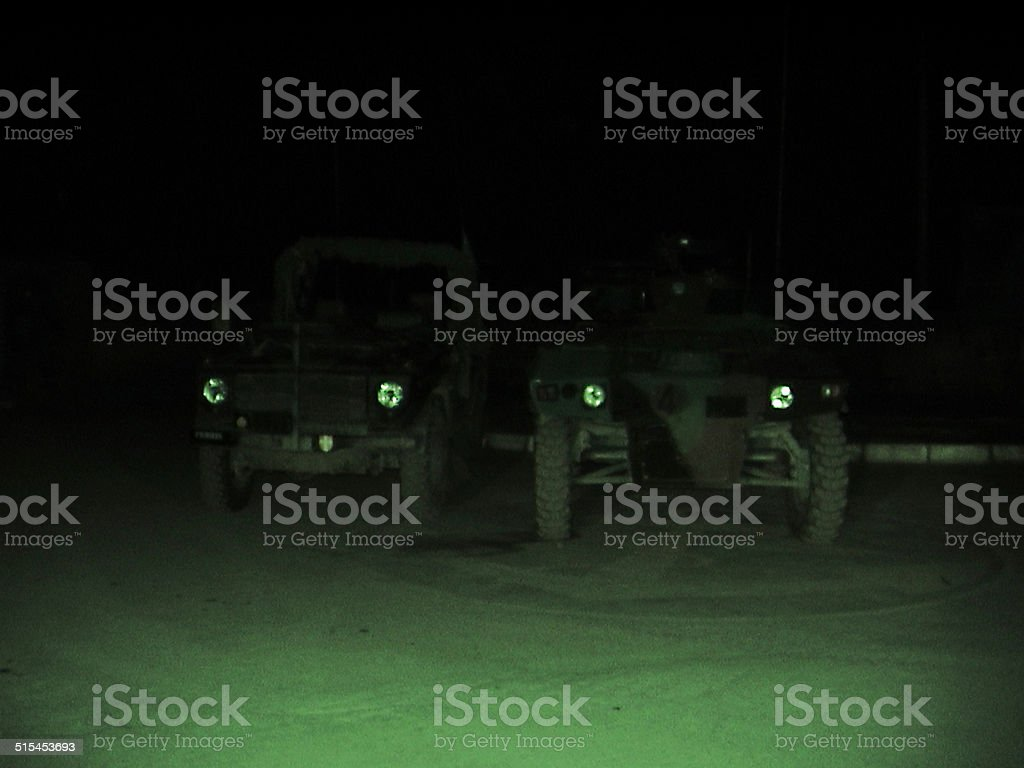 Modes of military transport stock photo