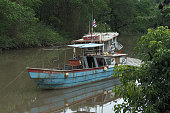 Modest Fishing Boat in Panama