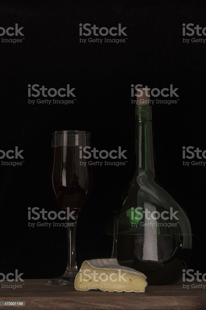 Modest meal stock photo