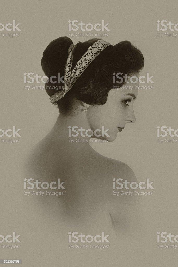 Modesty Incarnate stock photo