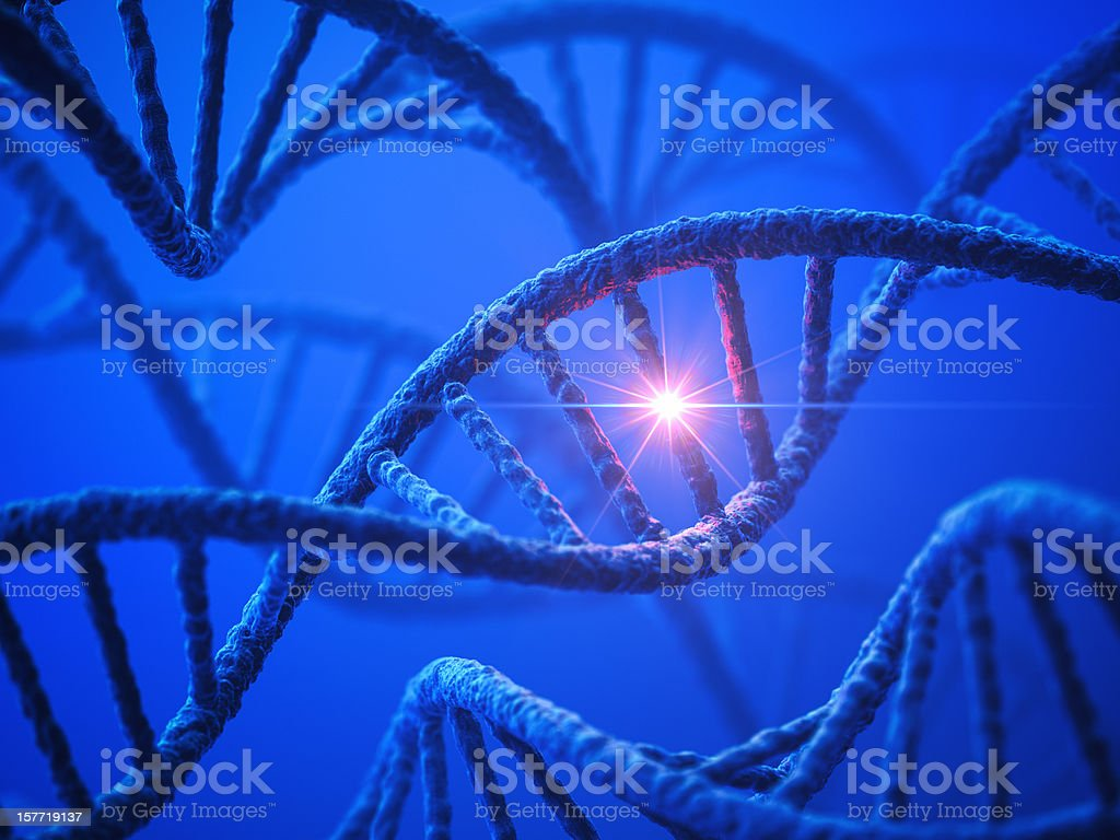 DNA Modification stock photo