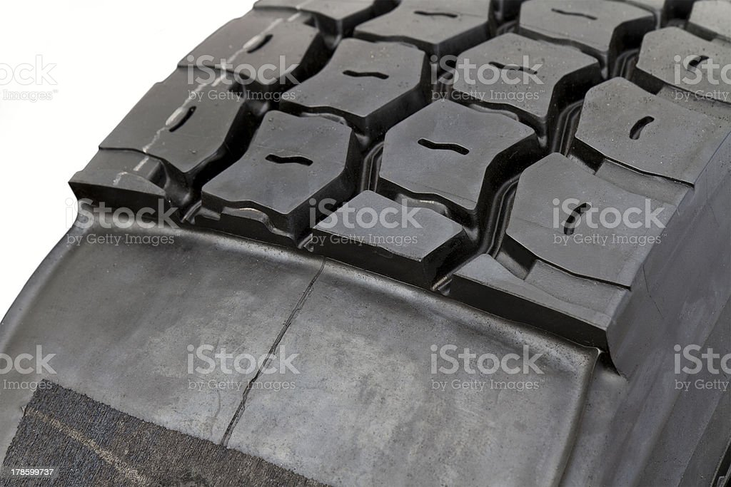modified tire from a lorry royalty-free stock photo