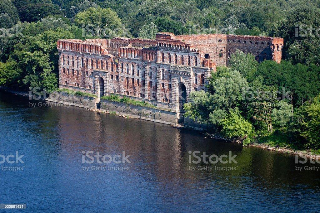 modlin fortress stock photo