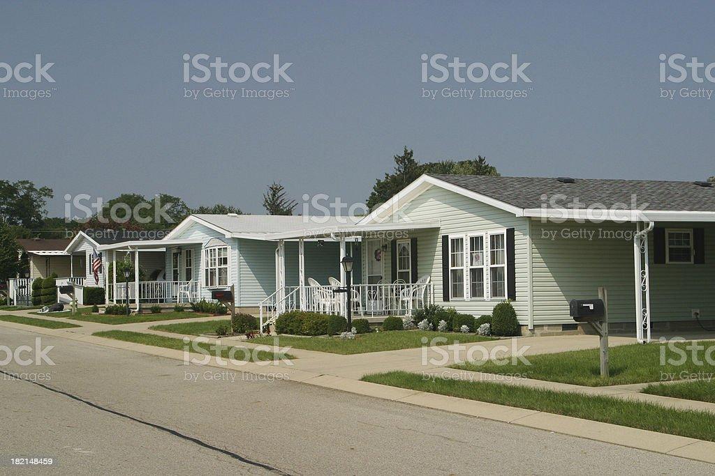 Modular Home Development. Prefab House. Fairborn, Dayton, Ohio stock photo