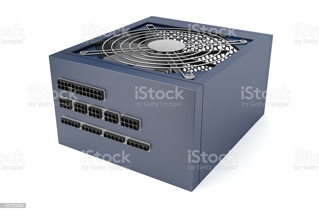 Modular power supply stock photo