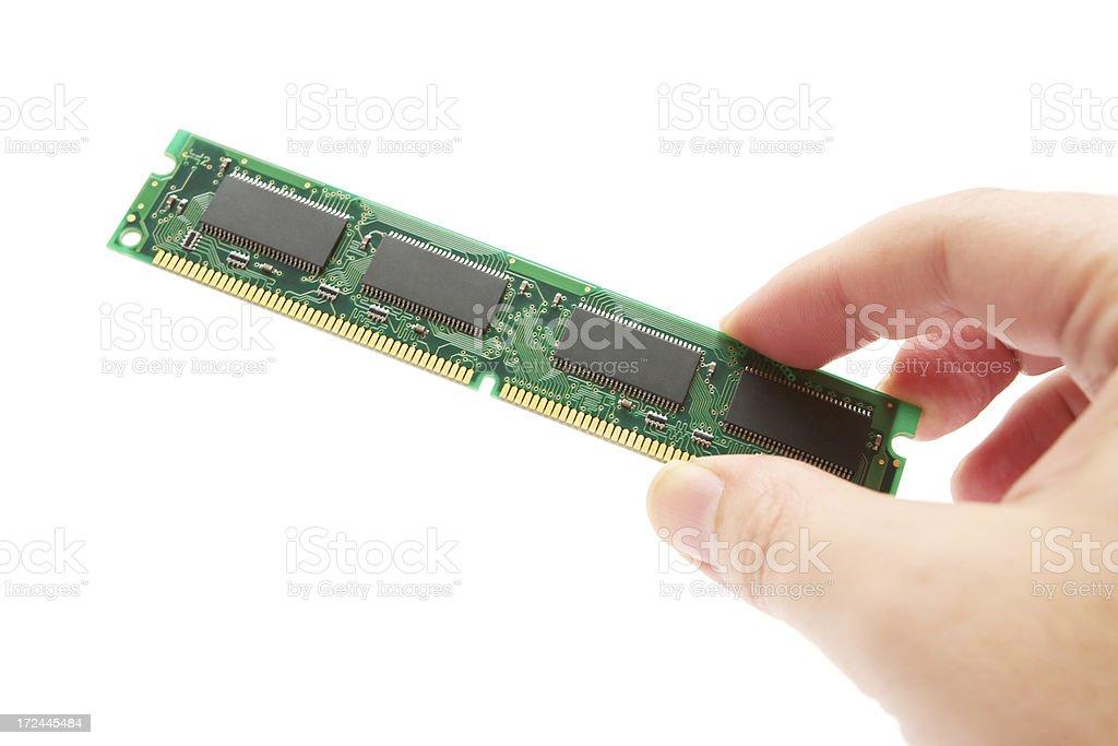 RAM Module royalty-free stock photo