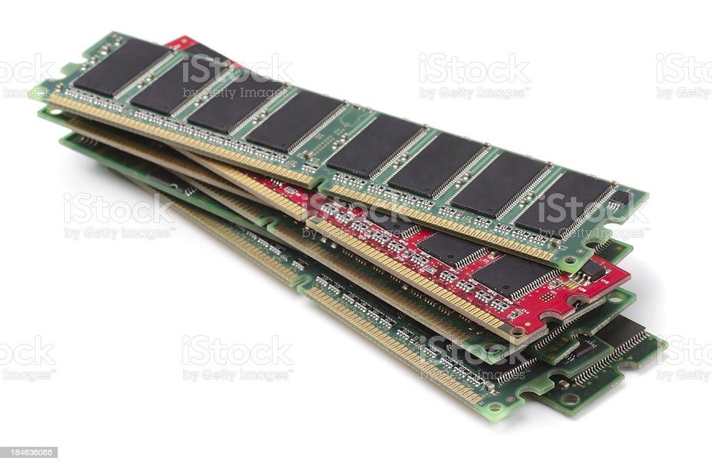 RAM modules royalty-free stock photo