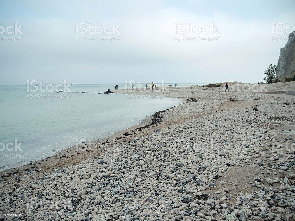Moens Klint - Denmark. royalty-free stock photo