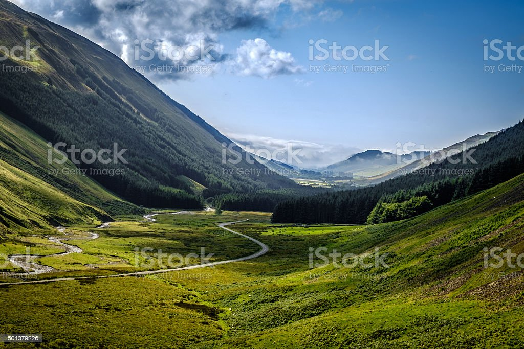 Moffat Hills stock photo