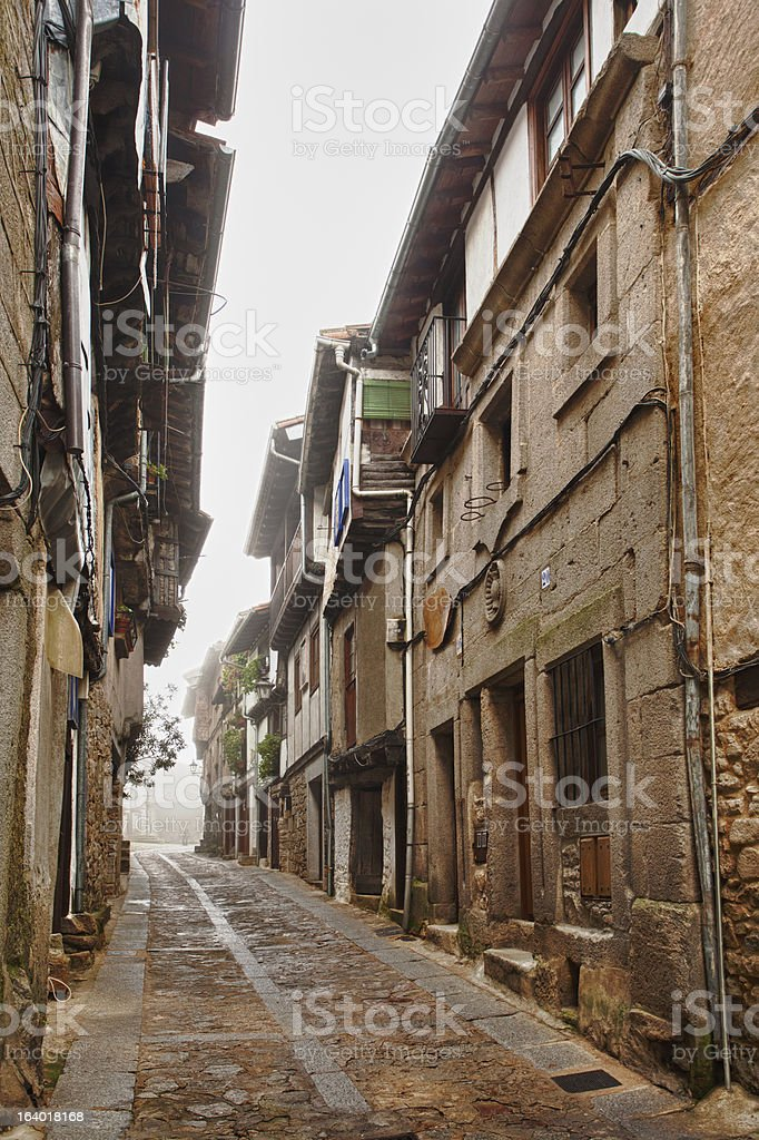 Mogarraz Street stock photo