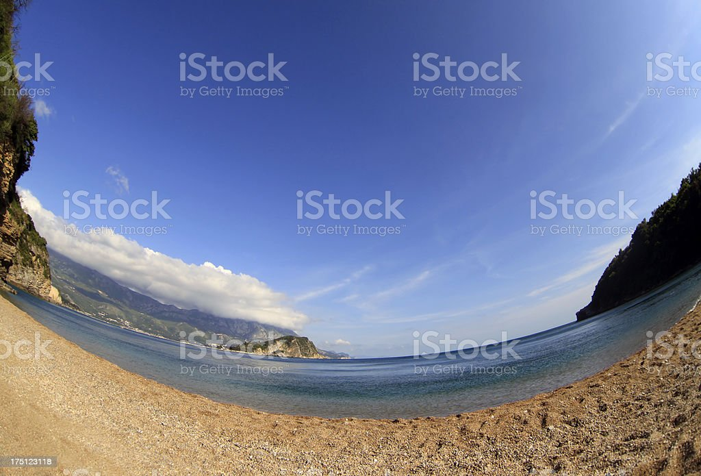 Mogren beach royalty-free stock photo