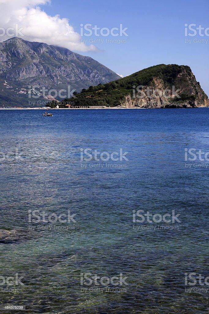Mogren beach royalty-free stock photo