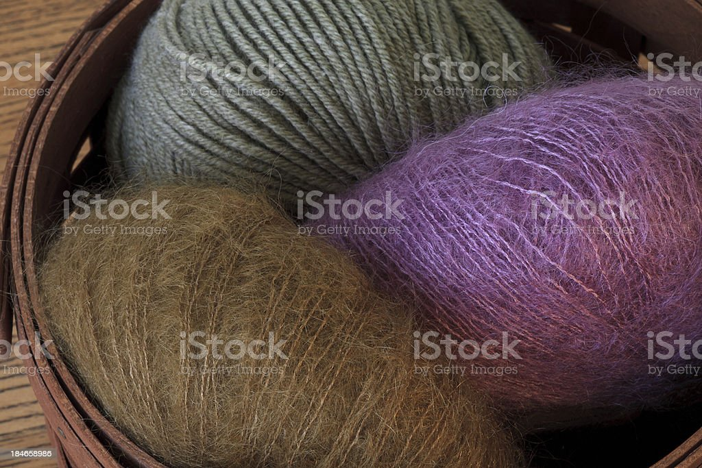 Mohair Yarn stock photo