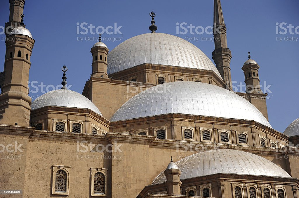 Mohammad Ali mosque in Cairo, Egypt stock photo