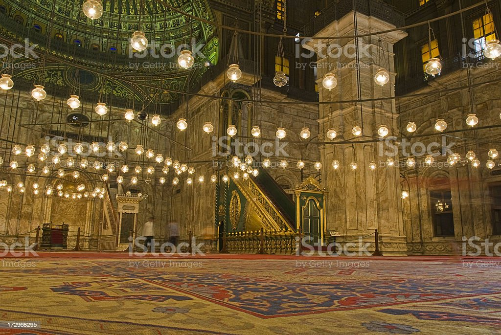 Mohammad Ali Mosque, Salah Ad Din royalty-free stock photo