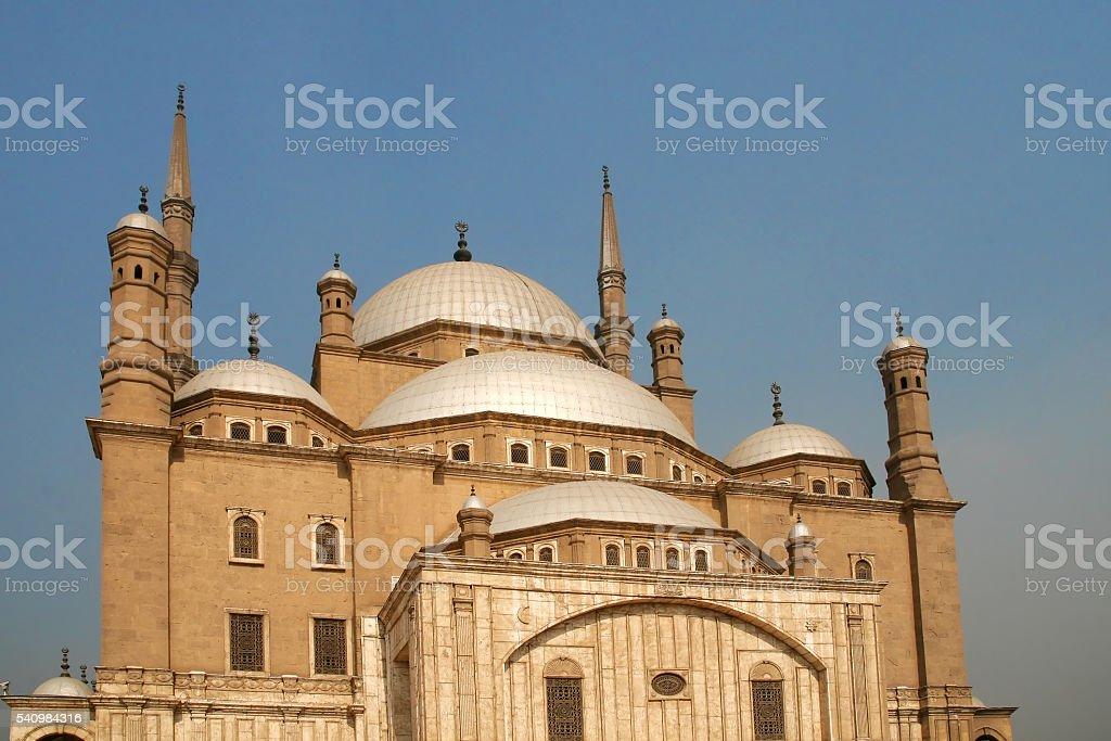 Mohammed ali mosque, Cairo, Egypt stock photo