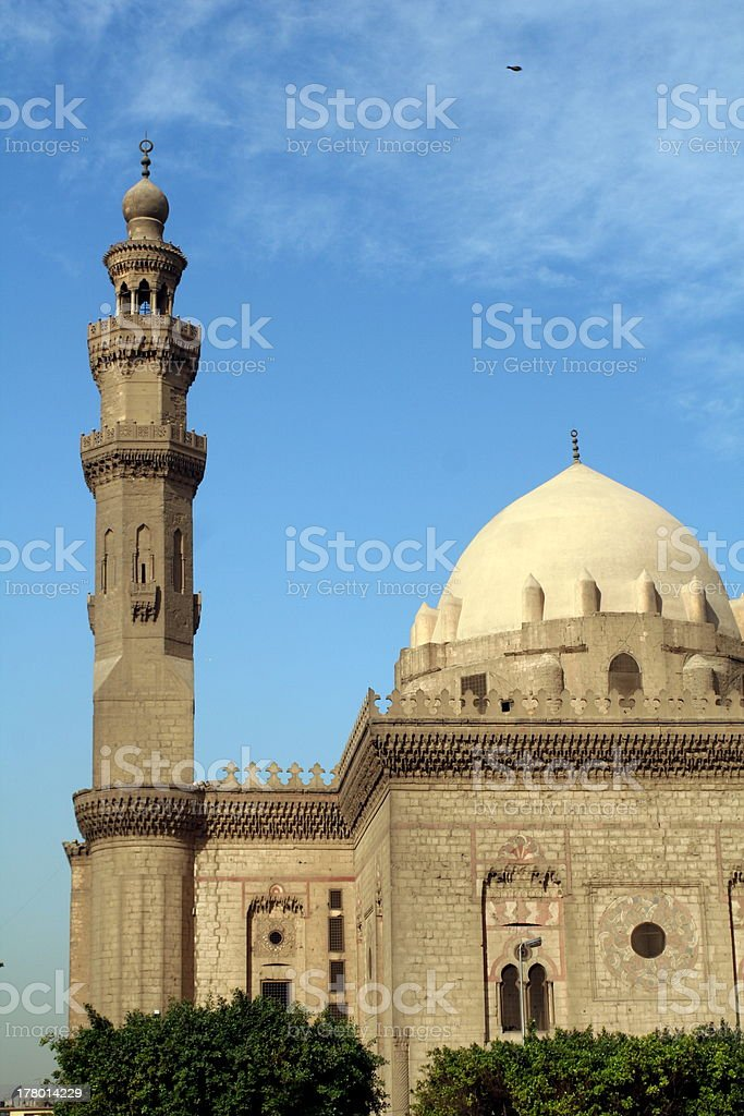 Mohammed Ali Mosque stock photo