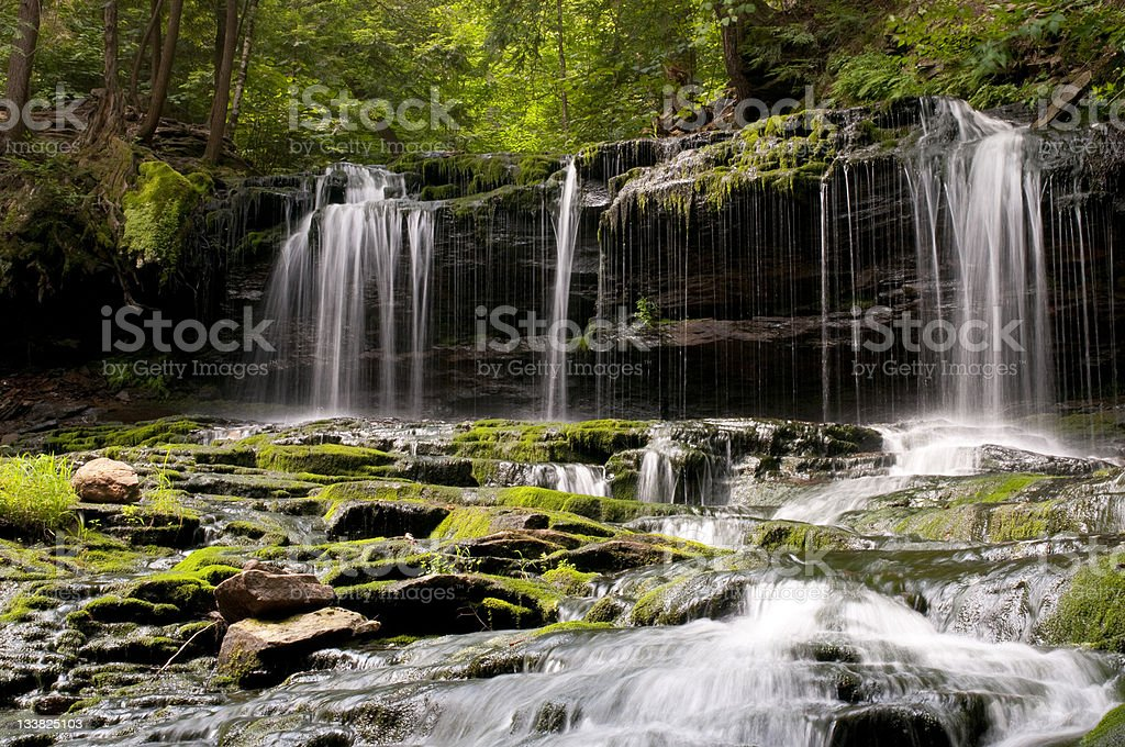 Mohawk Falls royalty-free stock photo