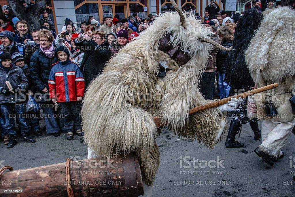 Mohács Festival in Hungary stock photo