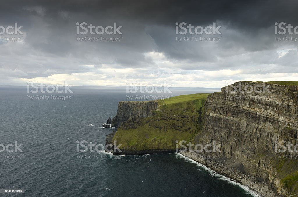Moher Cliffs royalty-free stock photo