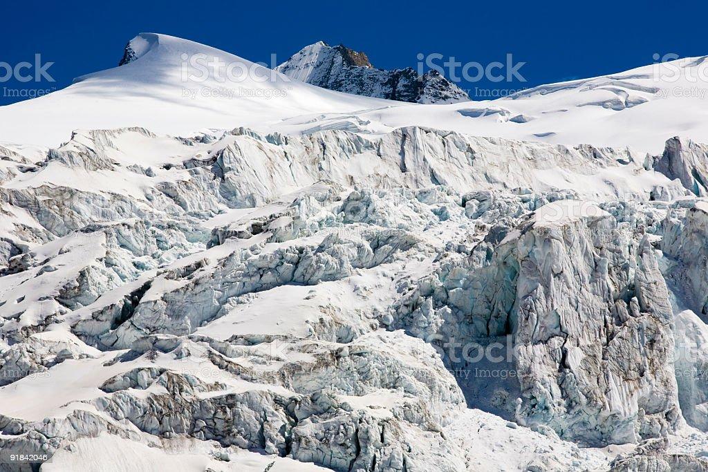 Moiry Gletscher royalty-free stock photo