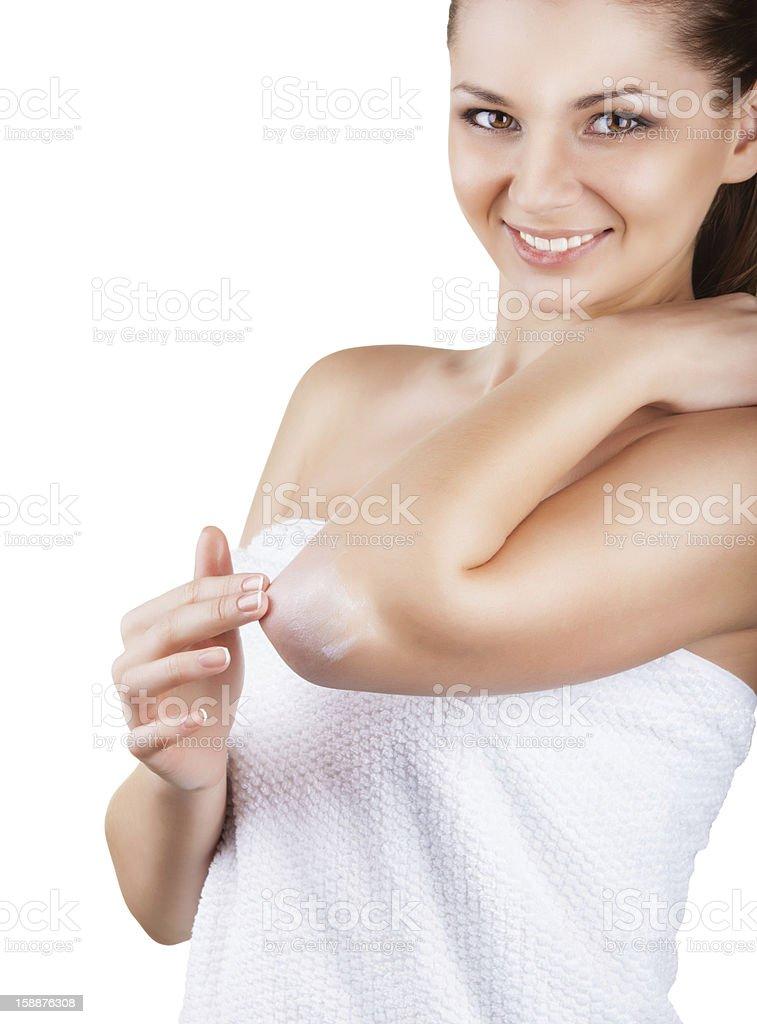 Moisturizer cream stock photo