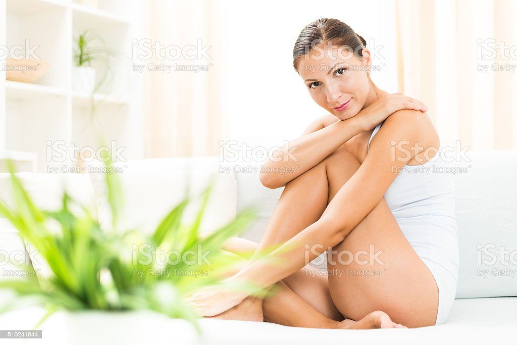 Moisturizer stock photo