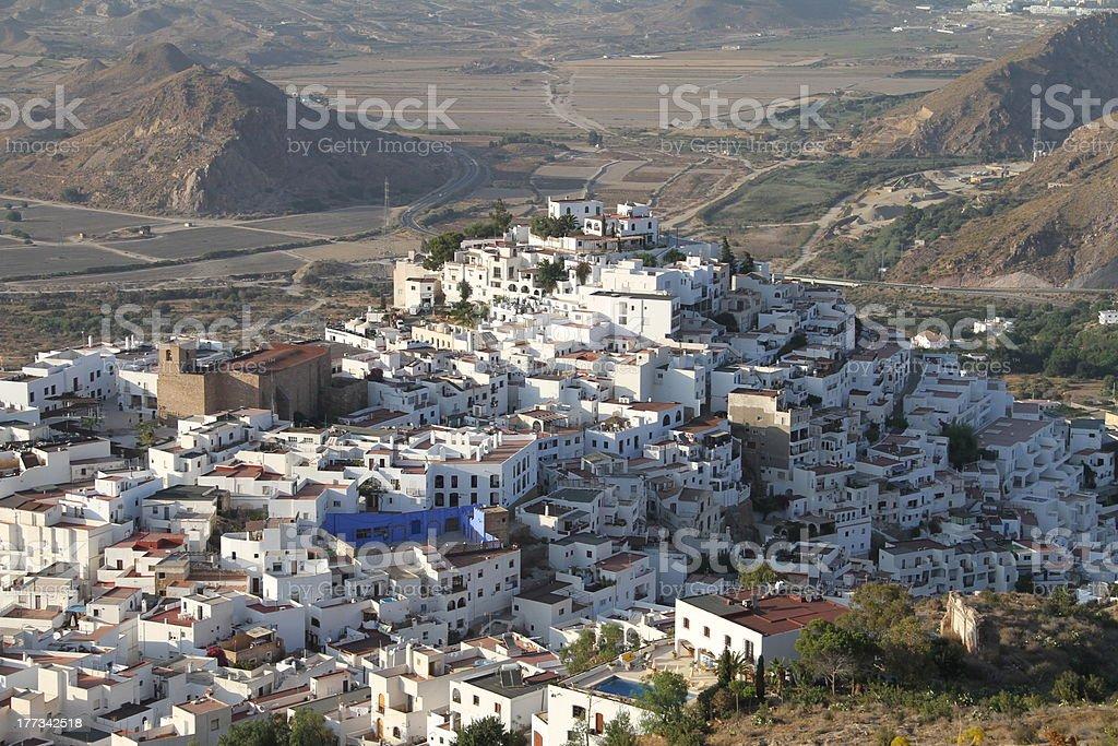 Mojacar in Andalusia stock photo