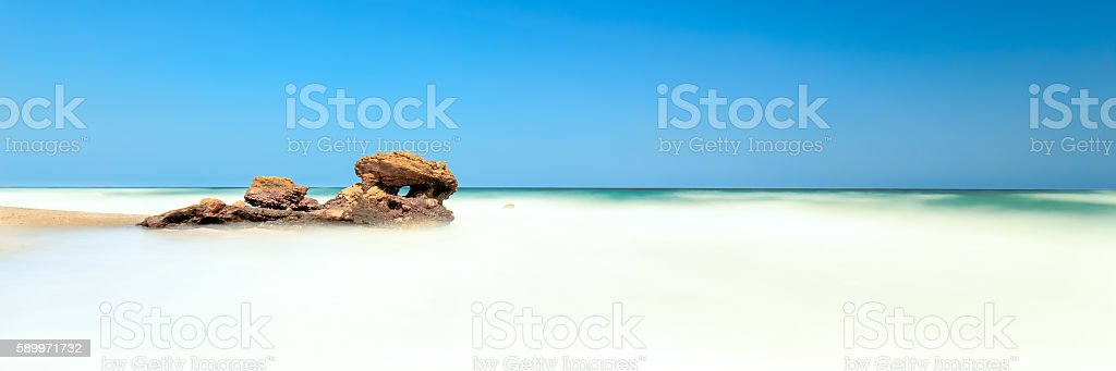 Mojacar playa stock photo