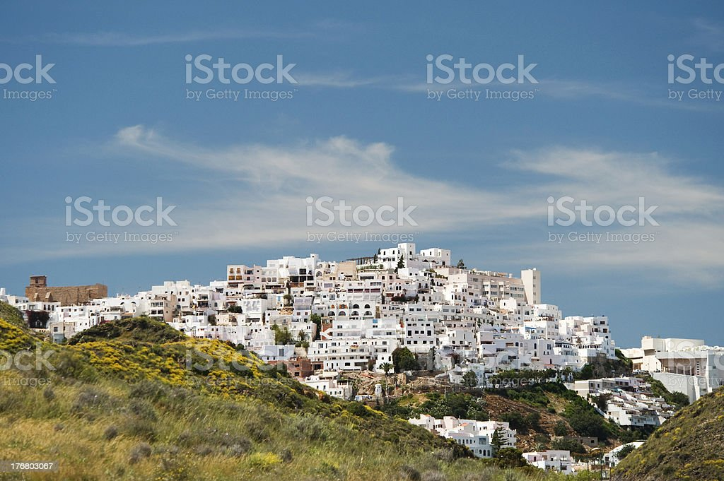 Mojacar Village, Almeria, Andalusia, Spain royalty-free stock photo