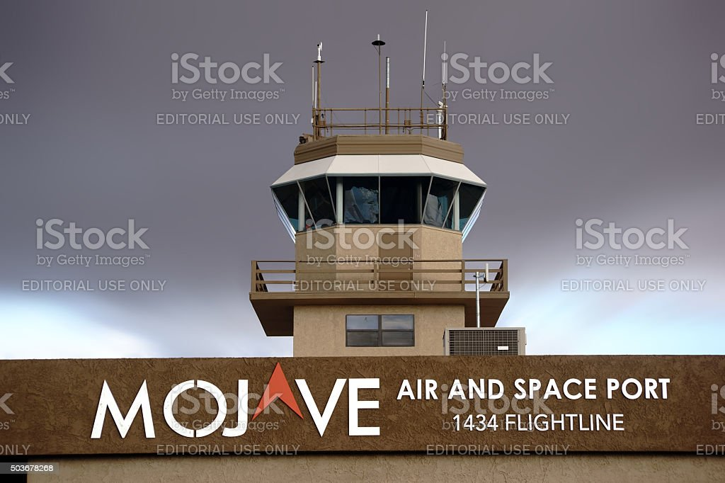 Mojave Air and Space Port stock photo