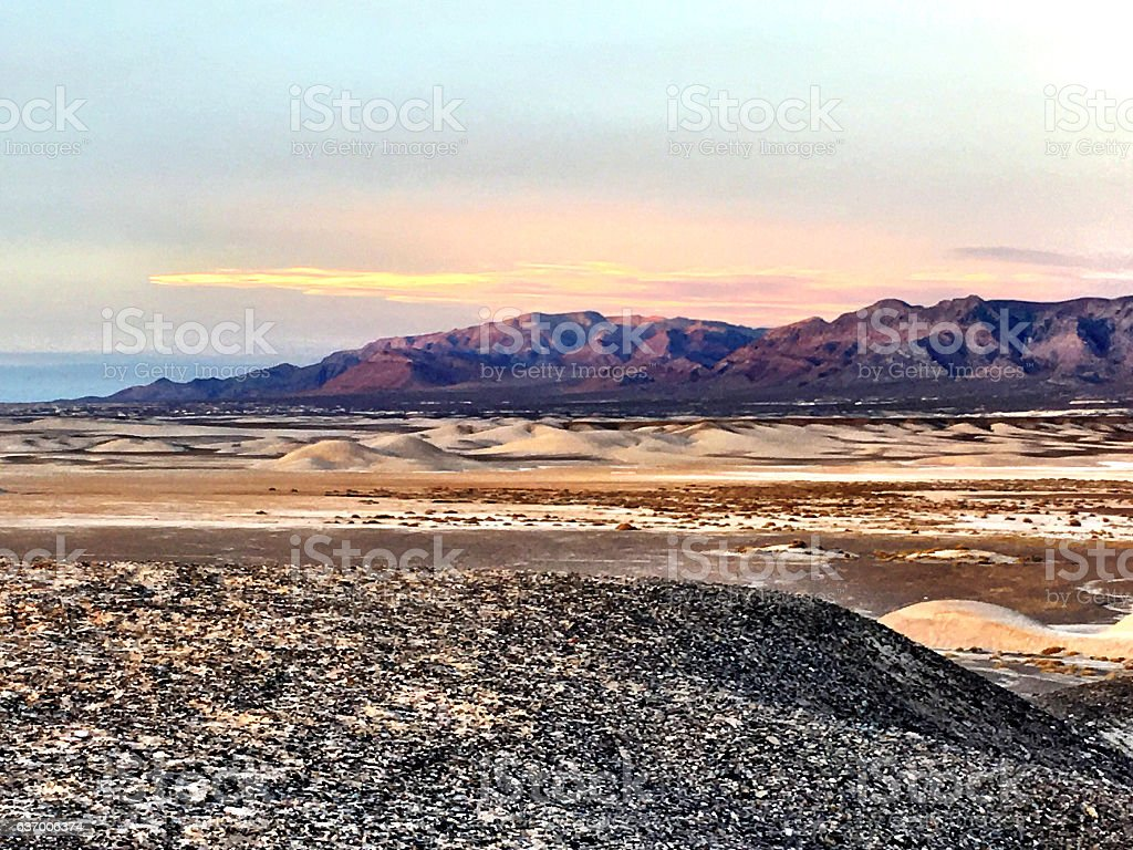 Mojave country stock photo