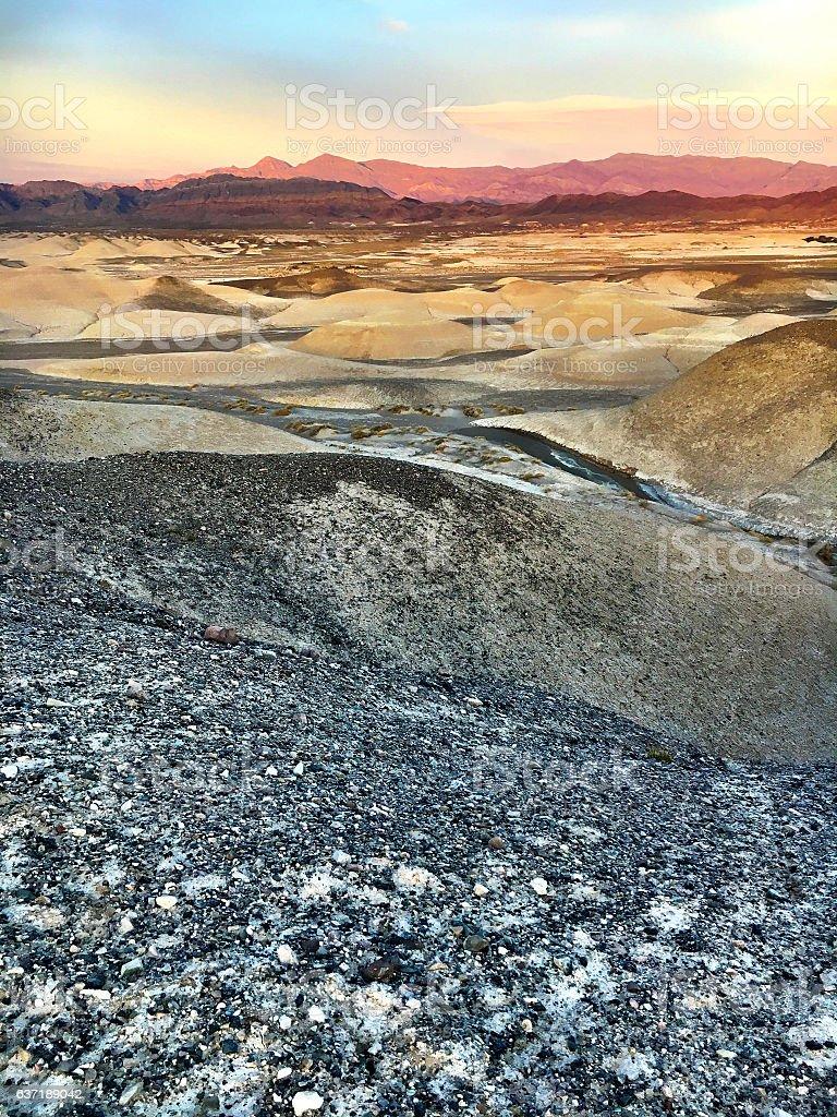 Mojave Desert world stock photo