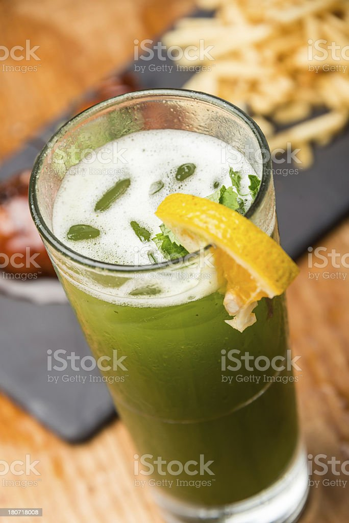 Mojito and appetizers royalty-free stock photo