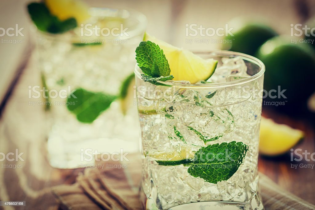 Mojito Cocktail CNGLFOO340 stock photo